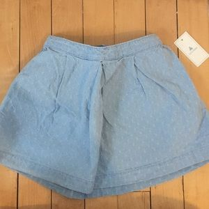NWT BabyGap chambray textured skirt & diaper cover